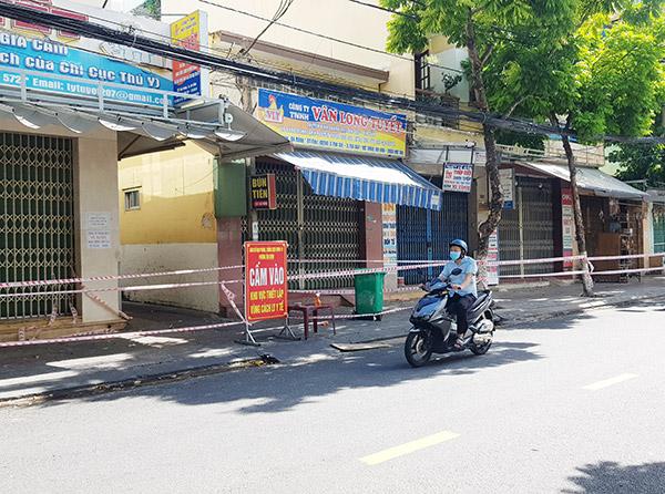 Khu vực kiệt 217 Hải Phòng (phường Tân Chính, quận Thanh Khê) tiếp tục ghi nhận thêm 2 ca dương tính trong kỳ báo cáo ngày 10/9