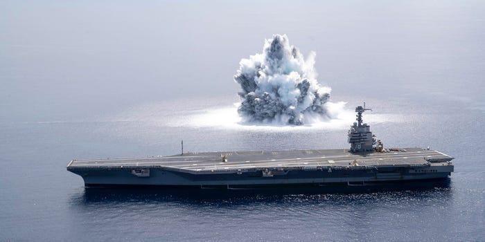 Như vậy bất chấp những lo ngại về thời kỳ của tàu sân bay đã qua hay cần thiết phải thu gọn quy mô các nhóm tác chiến hàng không mẫu hạm, Hải quân Mỹ vẫn quyết định đầu tư vào siêu tàu sân bay lớp Gerald Ford nhằm duy trì ưu thế tuyệt đối của mình trên các đại dương trong thế kỷ 21.