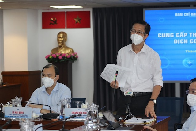 ông Phạm Đức Hải, Phó Ban Chỉ đạo phòng chống dịch COVID-19 TP Hồ Chí Minh cho hay, số ca tử vong tại thành phố liên tục giảm mạnh.