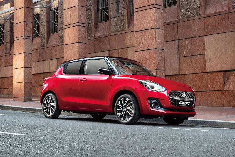 =3. Suzuki Swift (doanh số: 2 chiếc). Ảnh: Suzuki Việt Nam.