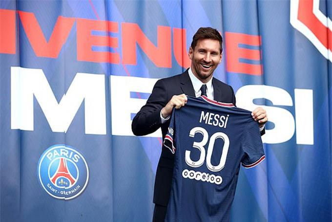 Áo đấu của Messi chỉ thu về 103,8 triệu bảng từ khi được tung ra