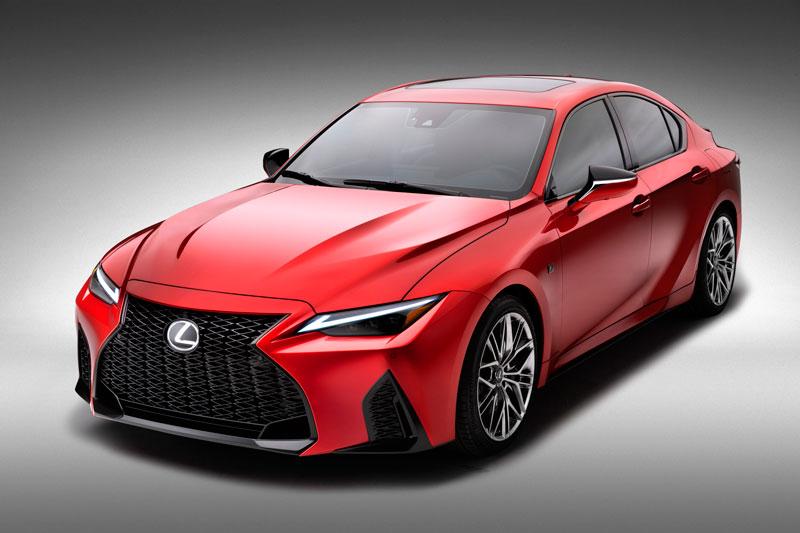 Lexus IS 500 F 2022.