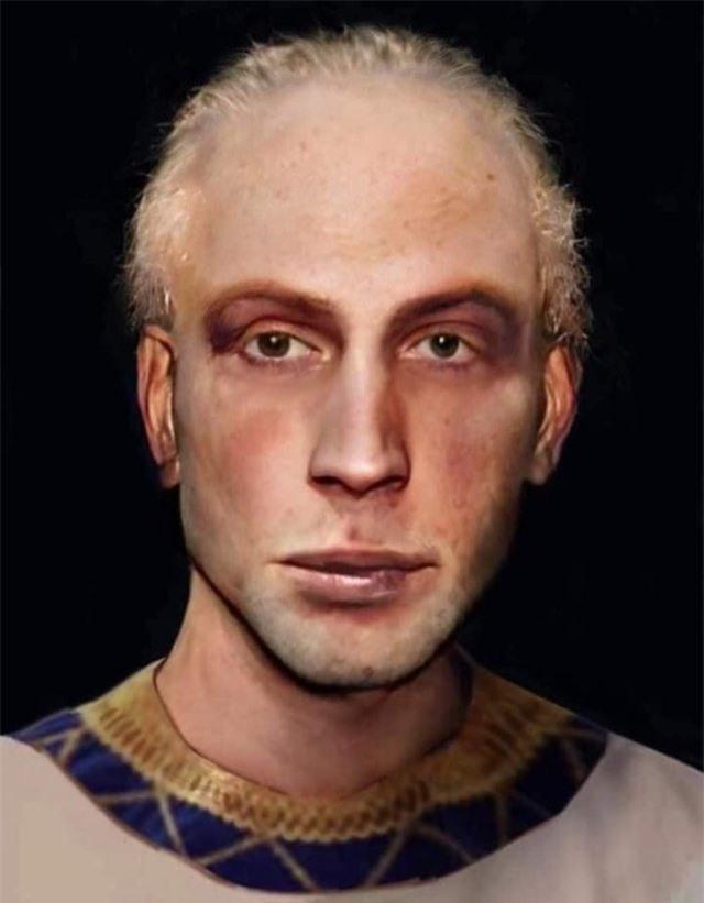 Trí tuệ nhân tạo giúp phục dựng thành công khuôn mặt của pharaoh Ai Cập từ xác ướp - Ảnh 6.