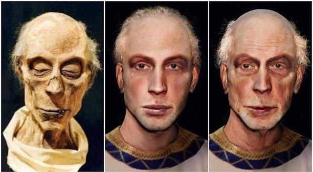 Trí tuệ nhân tạo giúp phục dựng thành công khuôn mặt của pharaoh Ai Cập từ xác ướp - Ảnh 8.