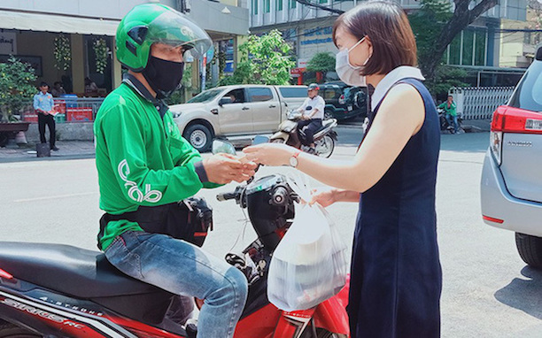 Shipper tại TP Hồ Chí Minh chưa được chạy liên quận, huyện.