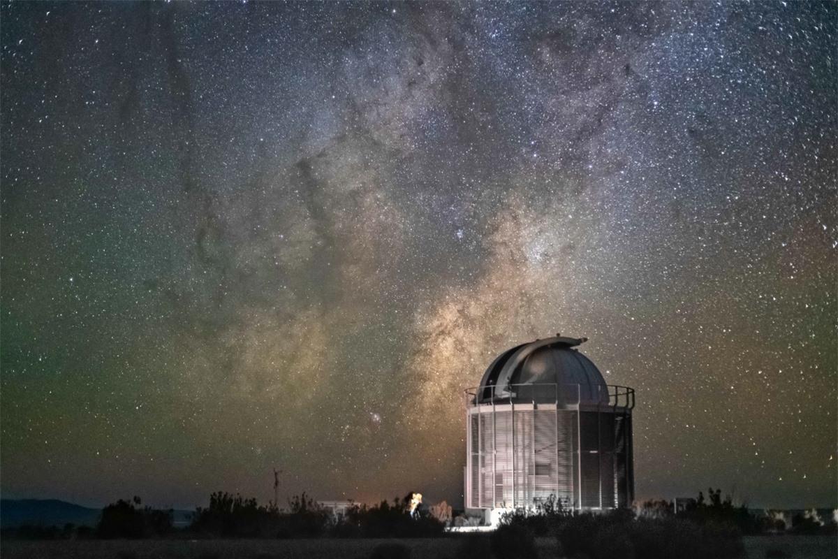 Đài Thiên văn Nam Phi tại Sutherland. Nguồn: South African Astronomical Observatory