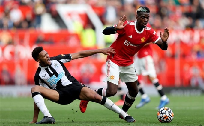 Pogba đã có trận đấu tuyệt vời