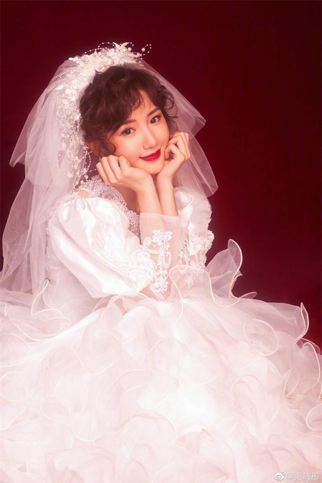 Liêu xiêu vì cô dâu Mao Hiểu Đồng đẹp như mơ - Ảnh 4.
