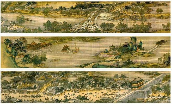 Phóng to 100 lần bức tranh cổ, cư dân mạng Trung Quốc ngượng đỏ mặt vì một chi tiết nhỏ: Thế này cũng dám làm! - Ảnh 1.