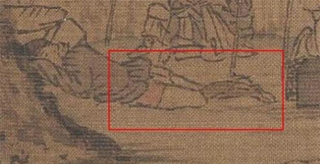 Phóng to 100 lần bức tranh cổ, cư dân mạng Trung Quốc ngượng đỏ mặt vì một chi tiết nhỏ: Thế này cũng dám làm! - Ảnh 3.