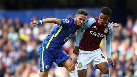 Saul thi đấu không tốt trong trận Chelsea vs Aston Villa