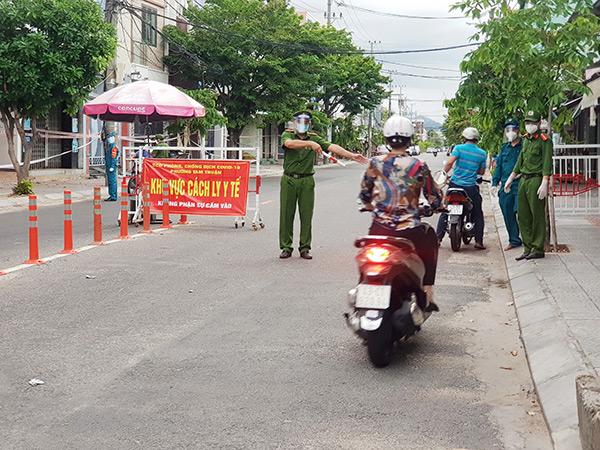 Phường Tam Thuận (quận Thanh Khê) hiện là một trong những điểm nóng về tình hình dịch COVID-19 trên địa bàn Đà Nẵng