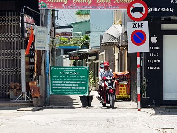 """Một số xã, phường """"vùng xanh"""" trên địa bàn Đà Nẵng đã tạo điều kiện để người dân đi lại thoải mái hơn"""