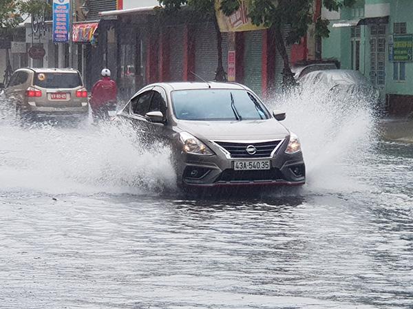 Đà Nẵng tiếp tục xảy ra mưa lớn trong hai ngày 12 - 13/9, nguy cơ ngập úng đô thị sau bão CONSON