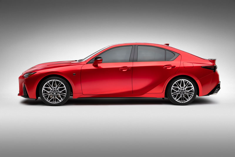 Lexus IS 500 F Sport Performance 2022.