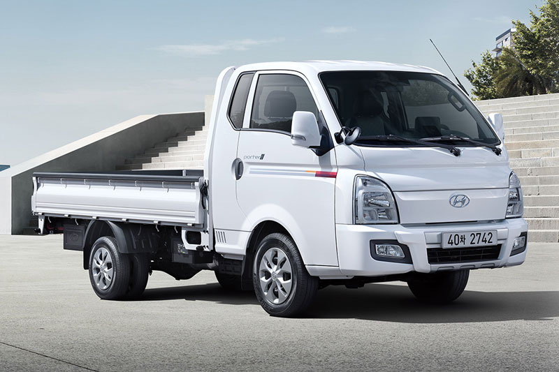 1. Hyundai Porter (doanh số: 60.917 chiếc, chiếm 5,8% thị phần).