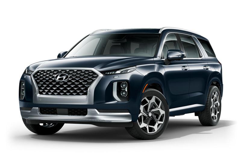 10. Hyundai Palisade (doanh số: 34.236 chiếc, chiếm 3,3% thị phần).