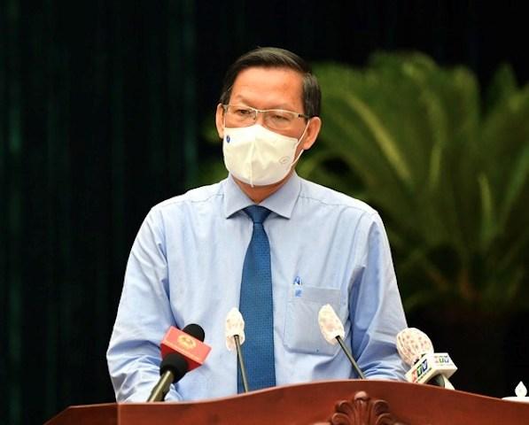 Ông Phan Văn Mãi, Chủ tịch UBND TP Hồ Chí Minh. (Ảnh: TTBC)
