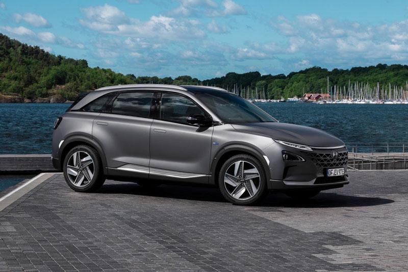4. Hyundai Nexo.