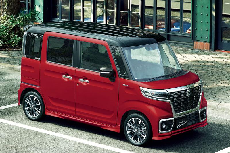 4. Suzuki Spacia (doanh số: 89.681 đơn vị (3,3% thị phần).