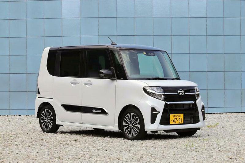 5. Daihatsu Tanto (doanh số: 77.157 chiếc, chiếm 2,8% thị phần).