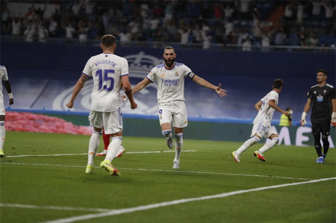 Benzema tỏa sáng với một cú hat-trick và một đường kiến tạo