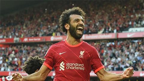 Salah cán mốc 100 bàn tại Premier League