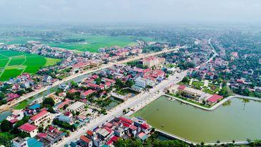 Toàn cảnh huyện Hậu Lộc (Thanh Hóa)