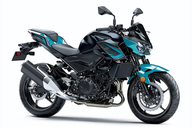 3. Kawasaki Z400 ABS 2021.