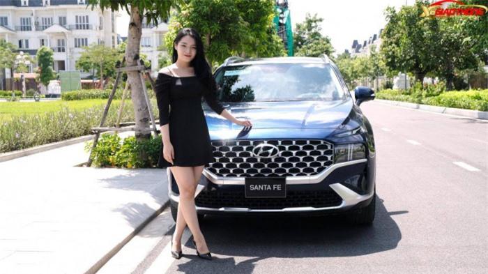 Giá xe Hyundai SantaFe tháng 9/2021: Giảm đến 47 triệu đồng 1