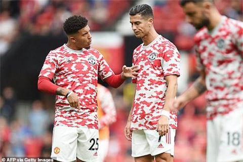 Nhờ Ronaldo mà Sancho đang chơi rất thất vọng sẽ được giải toả sức ép