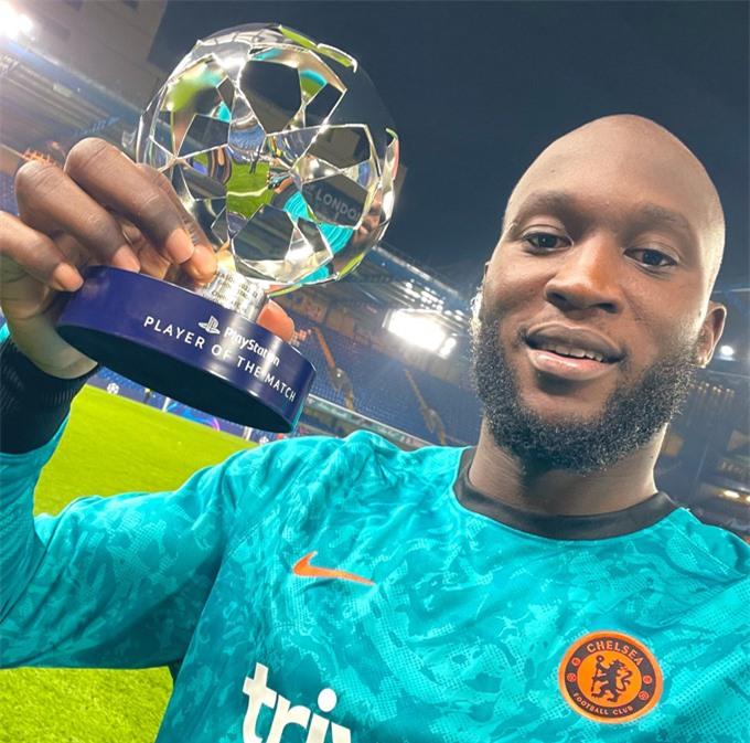 Lukaku nhận danh hiệu Cầu thủ xuất sắc nhất trận khi ghi bàn thắng duy nhất