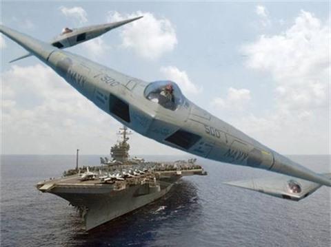 My tiec nuoi oanh tac co tang hinh tren ham A-12 Avenger