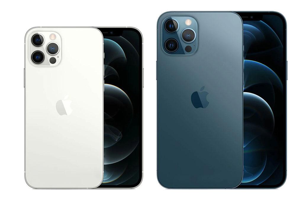 iPhone 12 Pro và iPhone 12 Pro Max (phải) chính thức bị ngừng sản xuất.