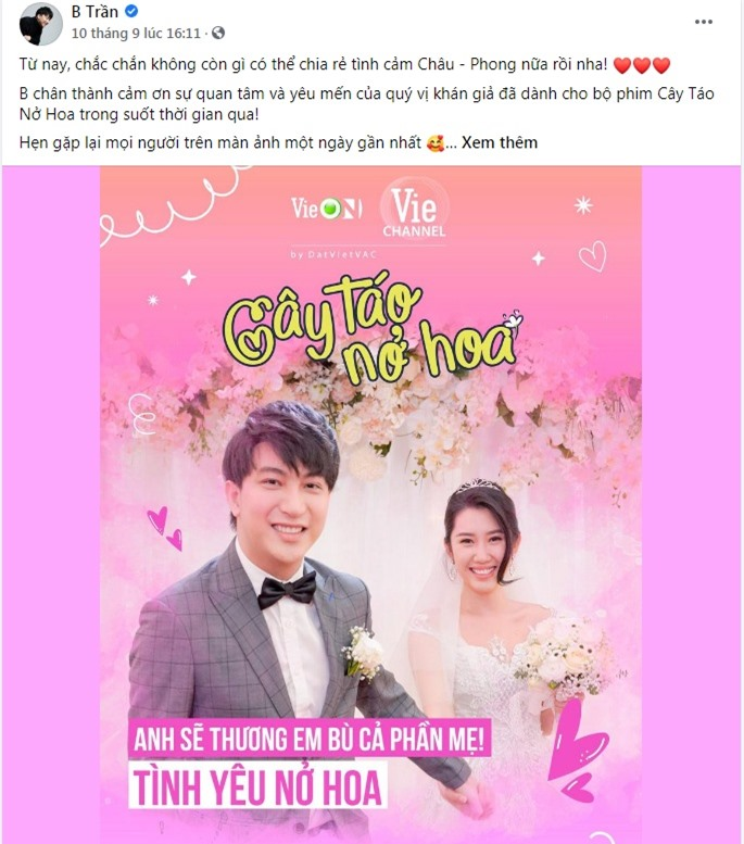 Cây táo nở hoa thu hút gần 1 tỷ lượt xem và tương tác của khán giả, là phim Việt hot nhất trên nền tảng trực tuyến - Ảnh 10.