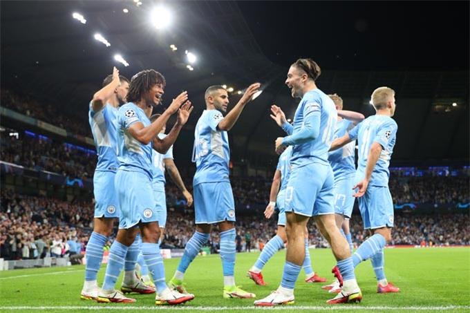 Man City giành thắng lợi 6-3 trước Leipzig ở Champions League 2021/22