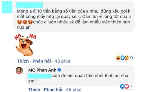 MC Phan Anh đối 1:1 với loạt antifan đề cập đến chuyện từ thiện, phản ứng thế nào về lùm xùm tương tự của Thuỷ Tiên? - Ảnh 4.