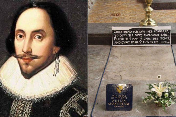 Lời nguyền đáng sợ trên mộ Shakespeare hé lộ bí ẩn về hộp sọ bị mất