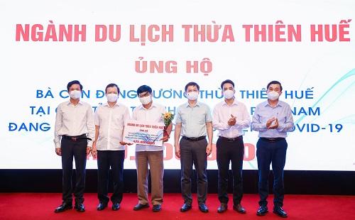 Ngành Du lịch Thừa Thiên Huế ủng hộ đồng hương phía Nam bị ảnh hưởng dịch COVID-19