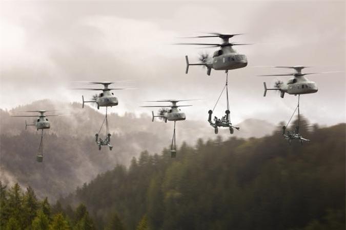 Chương trình Defiant ra đời nhằm thực hiện nhiệm vụ của cả trực thăng tấn công AH-64 Apache và trực thăng vận tải Black Hawk trong Không quân Mỹ hiện nay.