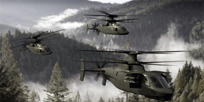 Quá trình phát triển máy bay mới với cánh quạt đồng trục thế hệ mới Defiant dựa trên công nghệ đã được thực nghiệm trên nguyên mẫu trực thăng siêu tốc X-2. Defiant có thể đạt tốc bay tối đa lên tới trên 462km/h.