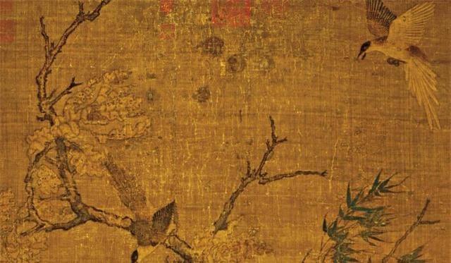 Phóng to bức họa mùa thu, thấy 8 chữ khắc trên thây cây, hậu thế truy ngay ra lai lịch bức tranh: Có 1 vụ bê bối chấn động Tống triều - Ảnh 6.
