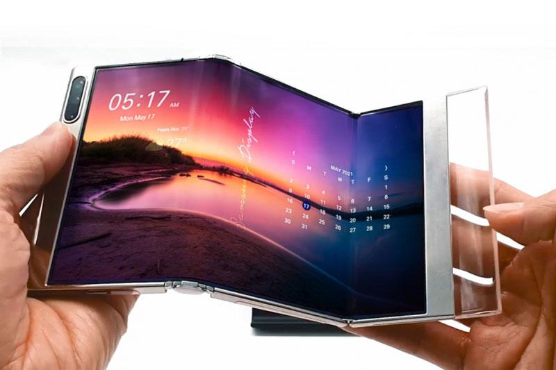 Samsung lại phô diễn công nghệ màn hình gập chưa từng có