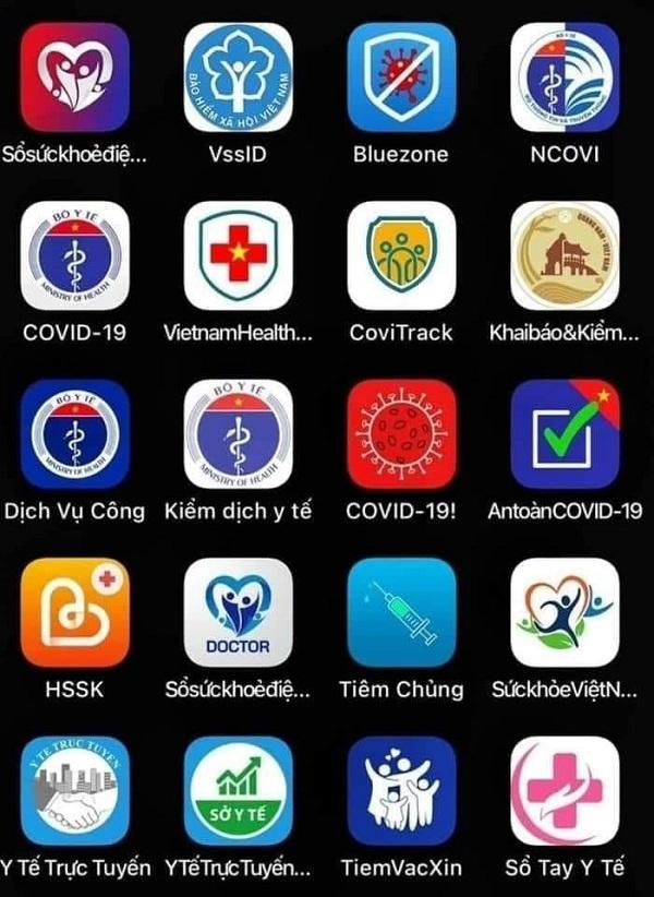 """""""Loạn app"""" chống dịch: Nên tập trung giải quyết vấn đề liên thông dữ liệu"""