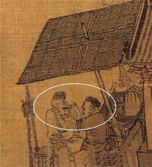 Phóng to 10 lần bức tranh cổ trong bảo tàng, cư dân mạng Trung Quốc á khẩu: Nhìn ra mới thấy tranh hay! - Ảnh 7.