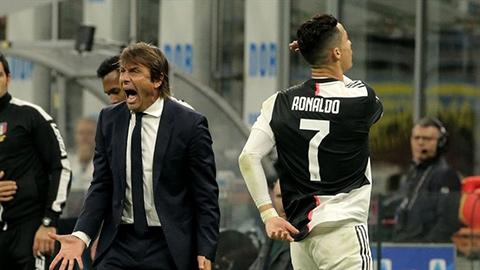 Ronaldo không thích Conte dẫn dắt MU