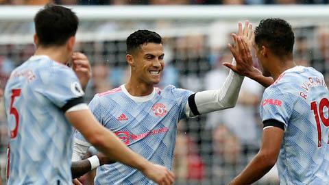 VAR vào cuộc, Ronaldo vẫn có bàn thắng cho Man United