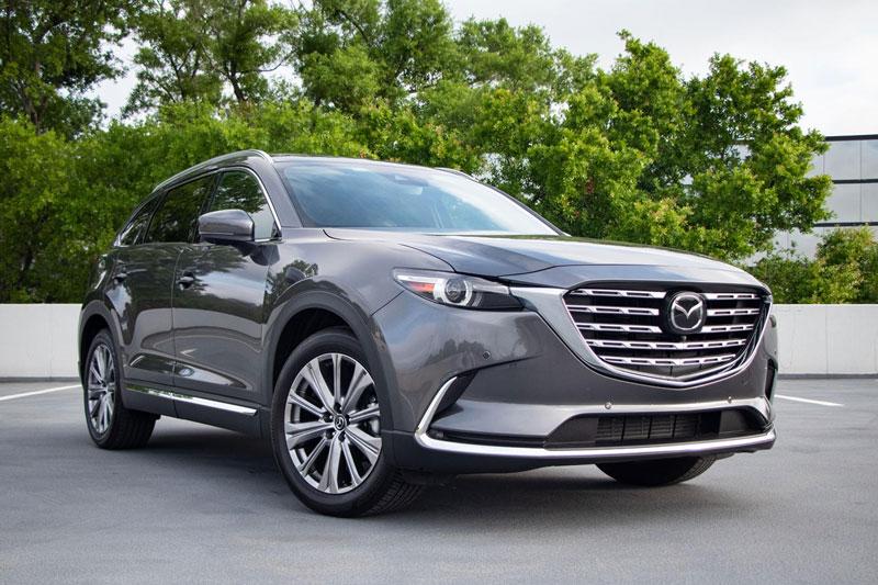=6. Mazda CX-9 2021 (mức tiêu hao nhiên liệu ở đường hỗn hợp: 11,8 lít/100 km).