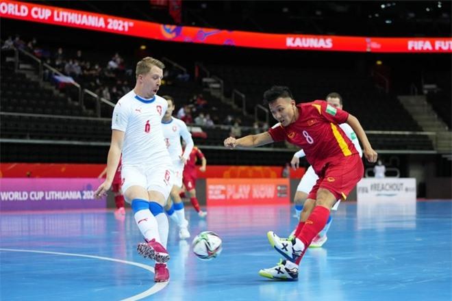 ĐT futsal Việt Nam có trận đấu quả cảm trước CH Czech - Ảnh: Getty Images