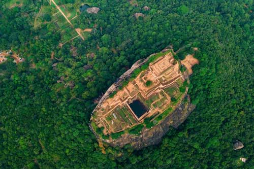 Khám phá kiệt tác 'pháo đài sư tử' giữa rừng rậm Sri Lanka